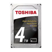 东芝 N300 系列 4TB 7200转 128M SATA3 NAS(网络存储) 硬盘(HDWQ140)