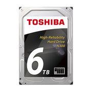 东芝 N300 系列 6TB 7200转 128M SATA3 NAS(网络存储) 硬盘(HDWN160)