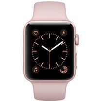苹果 Watch Series 2 智能手表(42mm 玫瑰金色铝金属表壳搭配粉砂色运动型表带 MQ142CH/A)产品图片主图