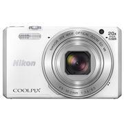 尼康 COOLPIX S7000 数码相机 白色