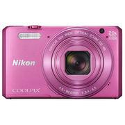 尼康 COOLPIX S7000 数码相机 粉色