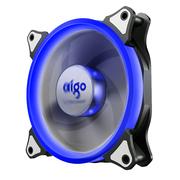 爱国者  极光Ⅱ 蓝光 电脑机箱风扇(12CM/小3P+大4P双接口/水冷排散热/减震脚垫)