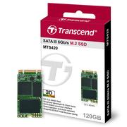 创见 MTS420系列 120G NGFF 固态硬盘(3D-NAND技术 仅支持SATA协议)
