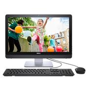 戴尔 灵越3264-R1428B 21.5英寸一体机电脑(i3-7100U 4G 1T GT920MX 2G独显 DVD 三年上门 有线键鼠 黑)