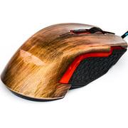 新贵 猎鲨豹8000II 有线游戏鼠标 古铜色