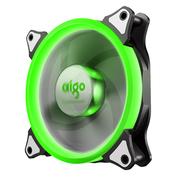 爱国者  极光Ⅱ 绿光 电脑机箱风扇(12CM/小3P+大4P双接口/水冷排散热/减震脚垫/赠4螺丝)