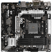 华擎 AB350M PRO4主板(AMD B350/AM4 Socket)