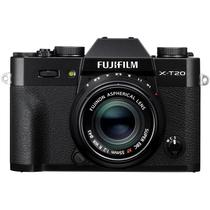 富士 X-T20 XF35 F2 黑色 微单电套机 2430万像素 翻折触摸屏 4K WIFI产品图片主图