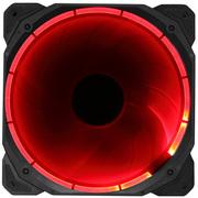 乔思伯 Eclipse日食-炫光红 14CM机箱风扇 (LED发光风扇/主板3PIN接口+电源D型口接口)