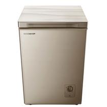 容声  100升 顶开门小冰柜 玻璃面板冷柜 节能单温冰箱 银河金 深宽高564*582*859 BD/BC-100MG/A产品图片主图