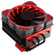乔思伯 CR-101红 CPU散热器 (多平台/4热管/下吹CPU散热器/PWM/12CM红色光效风扇/附带硅脂)
