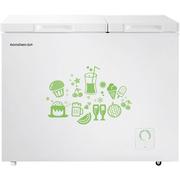 容声  208升 顶开门 大冷冻小冷藏 双温冰柜 家用商用冷柜 珍珠白 深宽高598*988*853 BCD-208MS/A