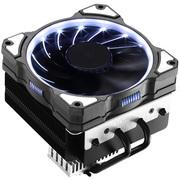 乔思伯 CR-101白 CPU散热器 (多平台/4热管/下吹CPU散热器/PWM/12CM白色光效风扇/附带硅脂)