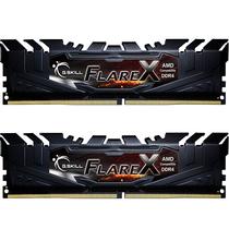 芝奇  Flare X系列 烈焰枪 DDR4 3200频率 16G (8G x 2)套装 台式机内存(铁骑黑)产品图片主图