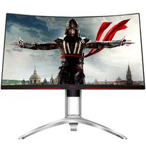 AOC 爱攻II AG272FCX 27英寸高清大屏 144Hz刷新 1800曲度 全接口游戏电竞曲面显示器产品图片主图