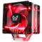 大镰刀 赤兔马STB120 PLUS CPU散热器(支持AMD AM4 intel 多平台/4热管/12cm温控红光双风扇)产品图片1
