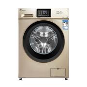小天鹅 TG100V20WDG 10公斤变频滚筒洗衣机 时尚香槟金 智能APP控制