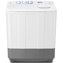 TCL XPB70-2608S 7公斤 半自动双缸洗衣机 AIR DRY通风式甩干(芭蕾白)产品图片主图
