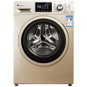 小天鹅 TD80V80WDG 8公斤变频洗烘一体 滚筒洗衣机 智能APP控制 时尚大视窗 香槟金