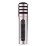 纽曼   MC01 手机麦克风 全民K歌 唱吧 YY 主播K歌直播电容麦克风专用话筒 苹果 安卓通用 金色