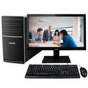 神舟 新瑞K80-KL5 D0 19.5英寸 台式办公电脑整机 (H110 i5-7400 8G DDR4 1T PCI COM串口 键鼠)