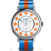 佳明 vivomove APAC 智能手表智能活动监测传统指针手表记步距离卡路里睡眠监测久坐提醒 波点橙