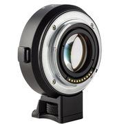 唯卓 EF-E 自动对焦转接环佳能镜头转索尼微单A7R/ S可增大光圈3档减少焦距 只支持佳能EF镜头
