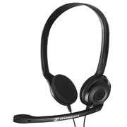 森海塞尔 PC 3 CHAT  轻便舒适通话耳机黑色