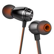JBL T380A 黑色 双动圈 入耳式有线耳机 手机耳机