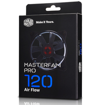 酷冷 MasterFan Pro120风量型风扇 (风量型风扇/PWM控制/橡胶材质/长寿命合金轴承)产品图片主图