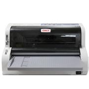 OKI 7500F+ 票据打印机快递单出库单发货单打印 发票 针式打印机