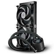 酷冷 MasterLiquid Pro 280(冰神Ⅱ)CPU水冷散热器(多平台/双腔水泵/微水道铜底/低噪)