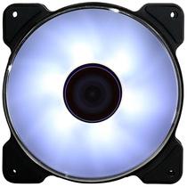 大镰刀 SY1225AK120-FF 白色12cm风扇(LED灯风扇/液压轴承/4pin PWM风扇/400-1500转速)产品图片主图
