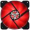 大镰刀 SY1225AK120-FF 红色12cm风扇(LED灯风扇/液压轴承/4pin PWM风扇/400-1500转速)产品图片2