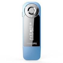 飞利浦 SA1208 飞声音效8G 发烧无损运动跑步MP3播放器 FM 蓝色产品图片主图