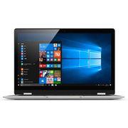 酷比魔方  iwork5X 13.3英寸超轻薄翻转笔记本(N3450 4G+64G 全高清IPS 360°翻转 触控屏)银