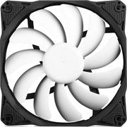 先马 黑洞 12CM 机箱风扇 (静音大风量/11叶镰刀叶片/8块加厚减振垫/PWM自动调速)