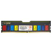 全何  DDR4 2400 8GB 台式机內存 LED彩光条