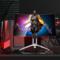 冠捷 爱攻II AG272QCX 27英寸 2K高清 144hz 1800R 大屏曲面全接口游戏电竞升降显示器产品图片2