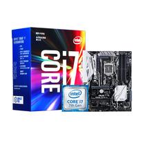 英特尔 酷睿四核I7-7700k CPU 华硕Z270-A套装产品图片主图