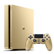 索尼 PlayStation 4 电脑娱乐游戏主机 500G(金色)