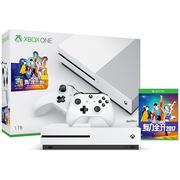 微软 Xbox One S 1TB家庭娱乐游戏机 舞力全开 2017 限量版