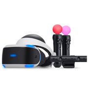 索尼 PlayStation VR 虚拟现实头戴设备 精品套装(摄像头 PS Move)
