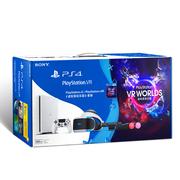 索尼 PlayStation VR 主机套装(PS VR精品套装 白色PS4 虚拟现实乐园)