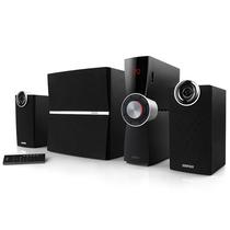 漫步者 C2XB 外置功放 2.1多媒体蓝牙音箱 音响 黑色产品图片主图