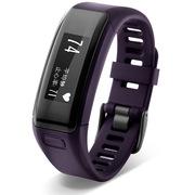 佳明 手表 vivosmartHR光学实时监测心率智能手环运动腕表来电提醒蓝牙计步键康睡眠魅力紫色