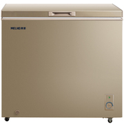 美菱 BC/BD-181DTY单温冰柜 金色外观 一机四用 节能静音 冷藏冷冻转换冷柜 变温柜 卧式冰箱(金)