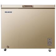 美菱 BC/BD-231DTY 231升单温冰柜 一机四用 金色冷柜 冷藏冷冻转换柜  商用变温柜 卧式冰箱(金)