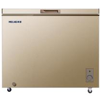 美菱 BC/BD-231DTY 231升单温冰柜 一机四用 金色冷柜 冷藏冷冻转换柜  商用变温柜 卧式冰箱(金)产品图片主图