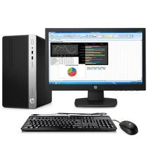 惠普 ProDesk 400 G4 MT 商用台式电脑主机(i3-7100 4G 1T 1G独显 Win10)产品图片主图